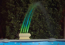 AquaGlow Rainbow Fountain 3510