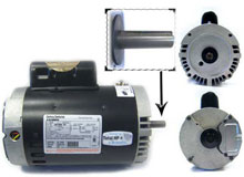 Aqua-Flo A-Series Pump Motor 1 HP B122