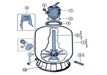 .Hayward Pro Series Sand Filter Diagram