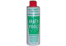 Party Pool Color Additive Emerald Green 8oz  47016-00012