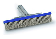Pooline Stainless Steel Algea brush 10 inches 11024B