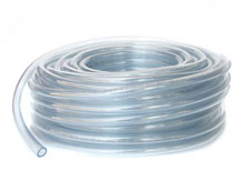 Blue Devil 1/8 ID 1/4 OD in 100ft Clear Vinyl Tubing W01-1100BU