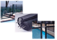 Pool GLI Safety Fence 4 ft. X 10 ft. 30-0410-BLK