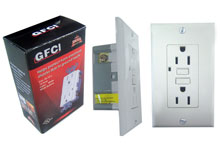 Circuit Interrupter Ground Fault GFCI