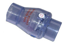 Magic Smart Check Valve 1.5 inch Slip x Slip Clear 0821-15C