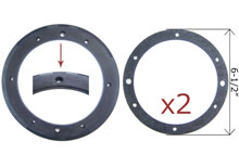 Pentair Gasket Set Small Stainless Steel Niche 79207900