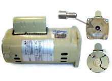 Pinnacle Pentair 1 1/2 HP Original Motor 071315S
