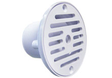 Pooline 2 in. MIPT Deck Drain Gutter Socket 11210