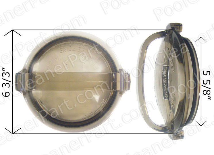Hayward Strainer Cover With O Ring Power Flo Ii Spx1500d2a