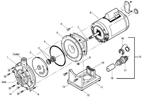 booster pump polaris diagram